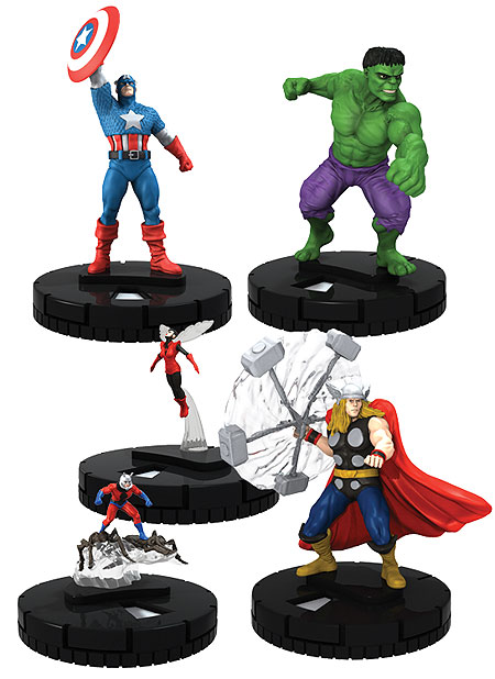HeroClix Avengers Fast Forces Pack