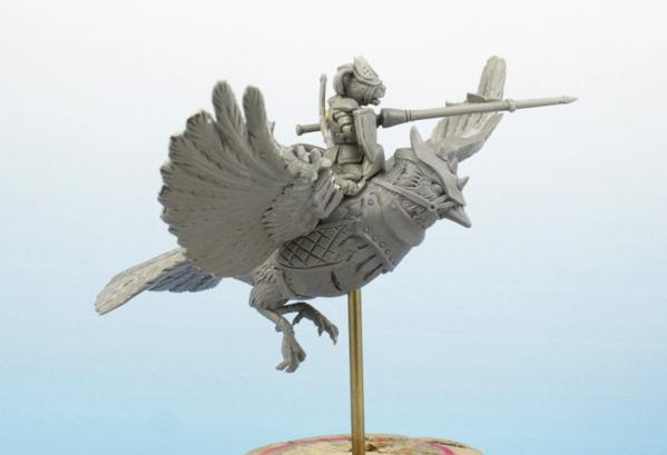 A Tail Feathers sculpt.