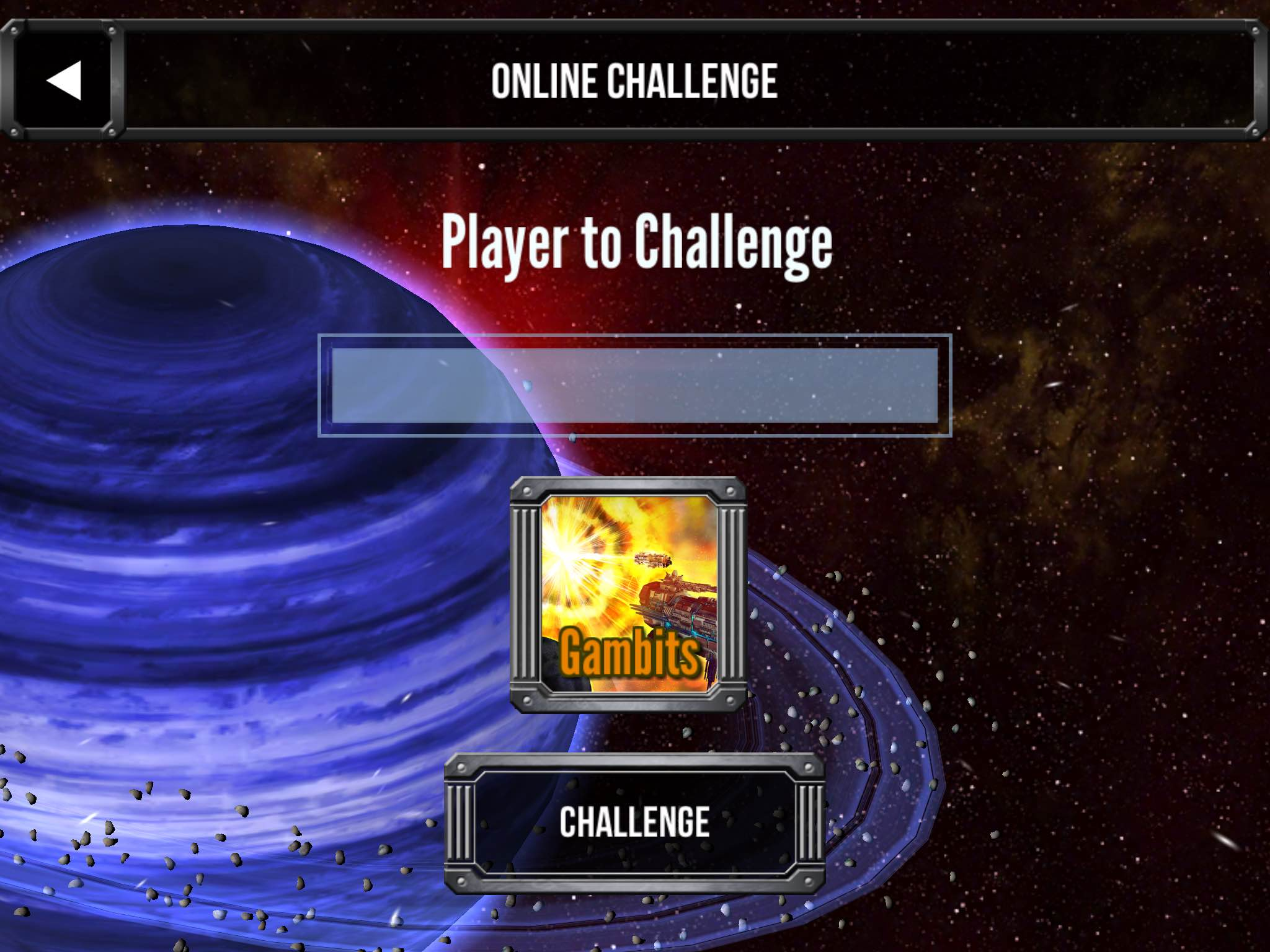 Star Realms Gambit Player Challenge