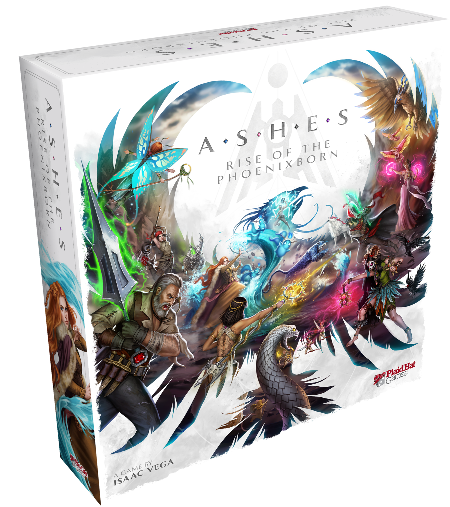 Ashes: Rise of the Phoenixborn Box Art