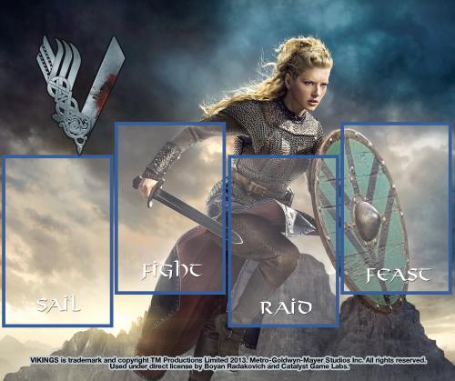Vikings: Longships Board