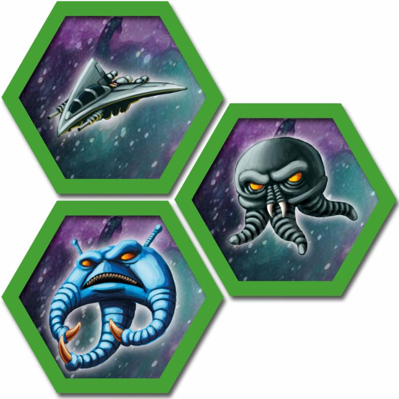 Survive: Space Attack tiles.