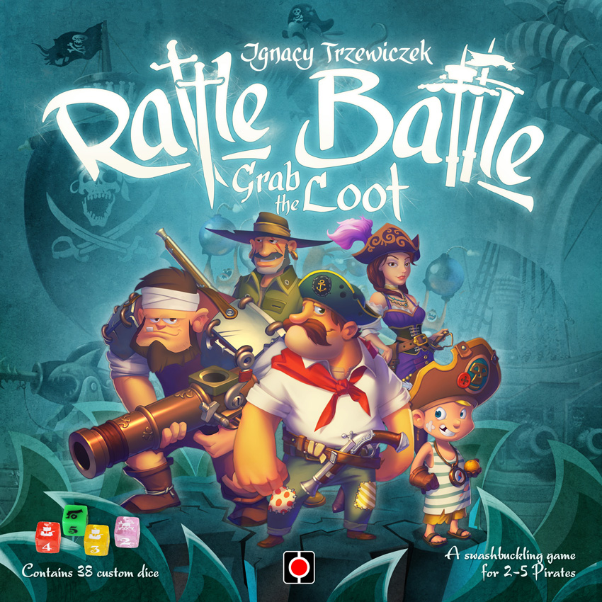 Rattle, Battle, Grab the Loot cover.