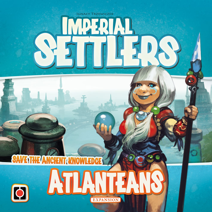 Imperial Settlers: Atlanteans box cover.