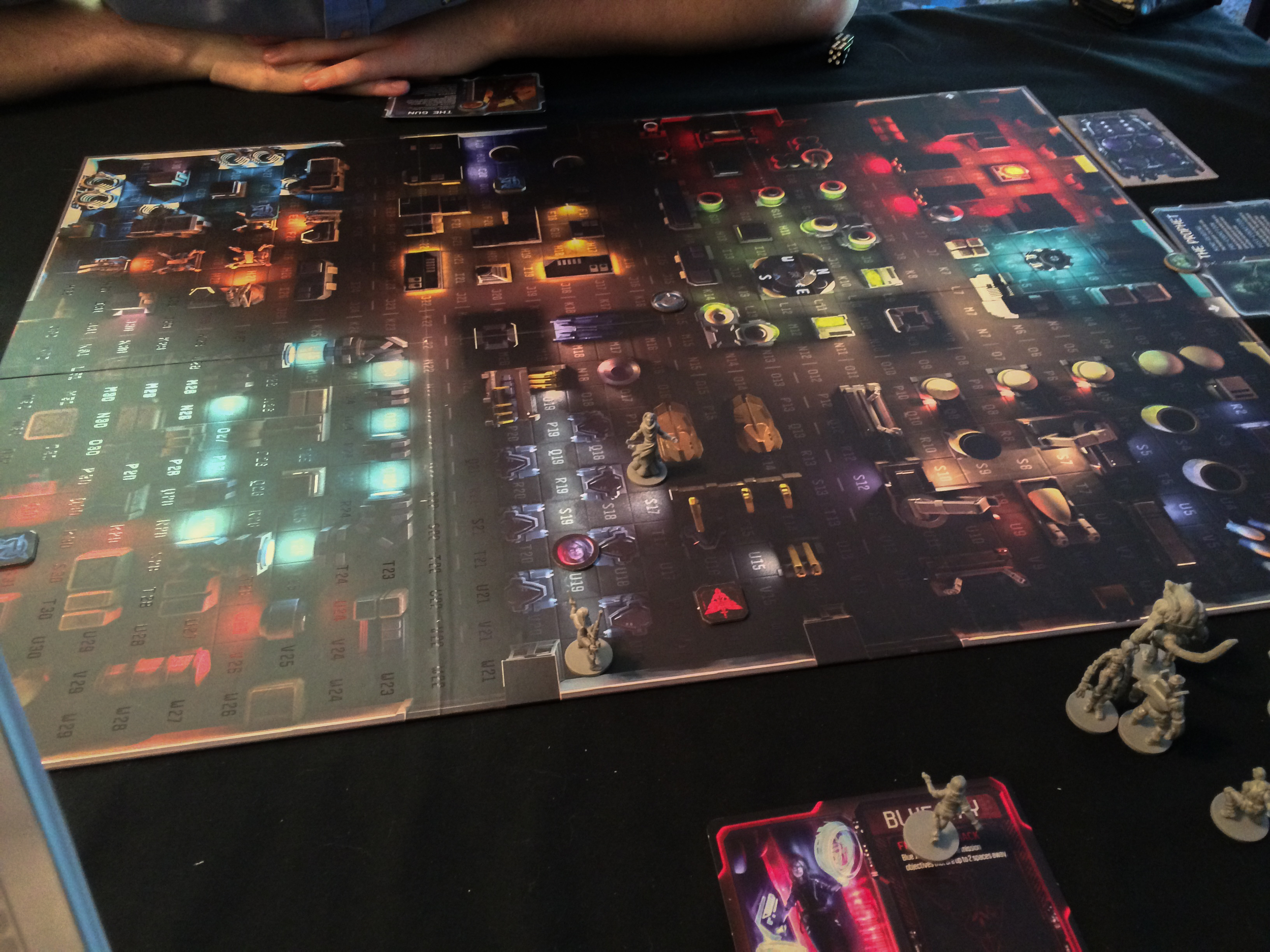 You can't see my agent, but I'm racing towards the exit at the top of the Specter Ops board.