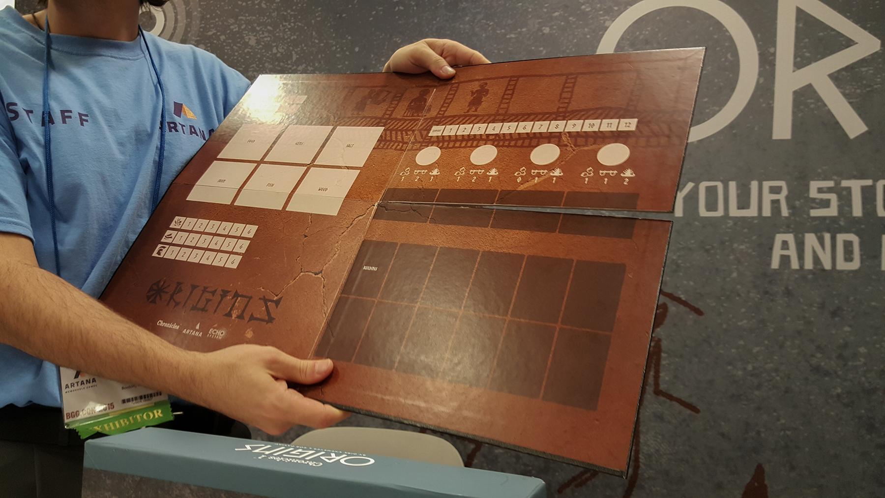 Chronicles 1: Origins Bronze Age prototype board
