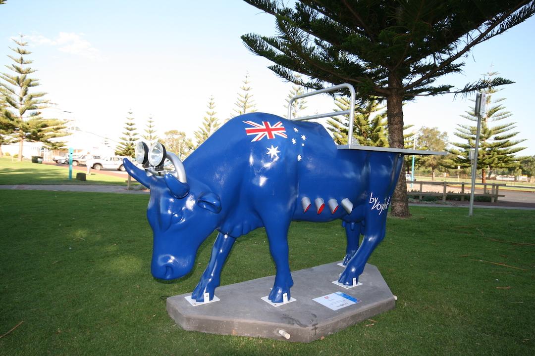 Tru Blu - Cow Parade, Busselton