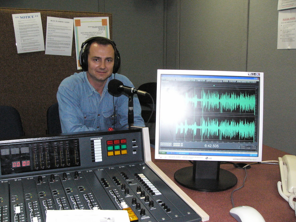 Interview on Polish Radio