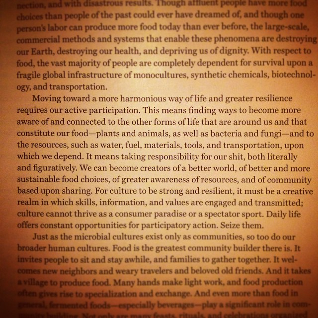 "From ""The Art of Fermentation"" by Sandor Katz"