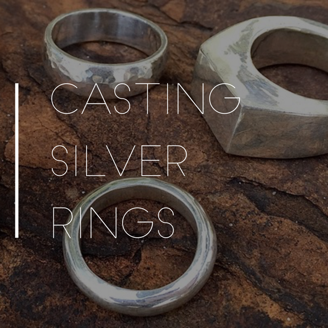 Casting Silver Rings — The Homestead Atlanta