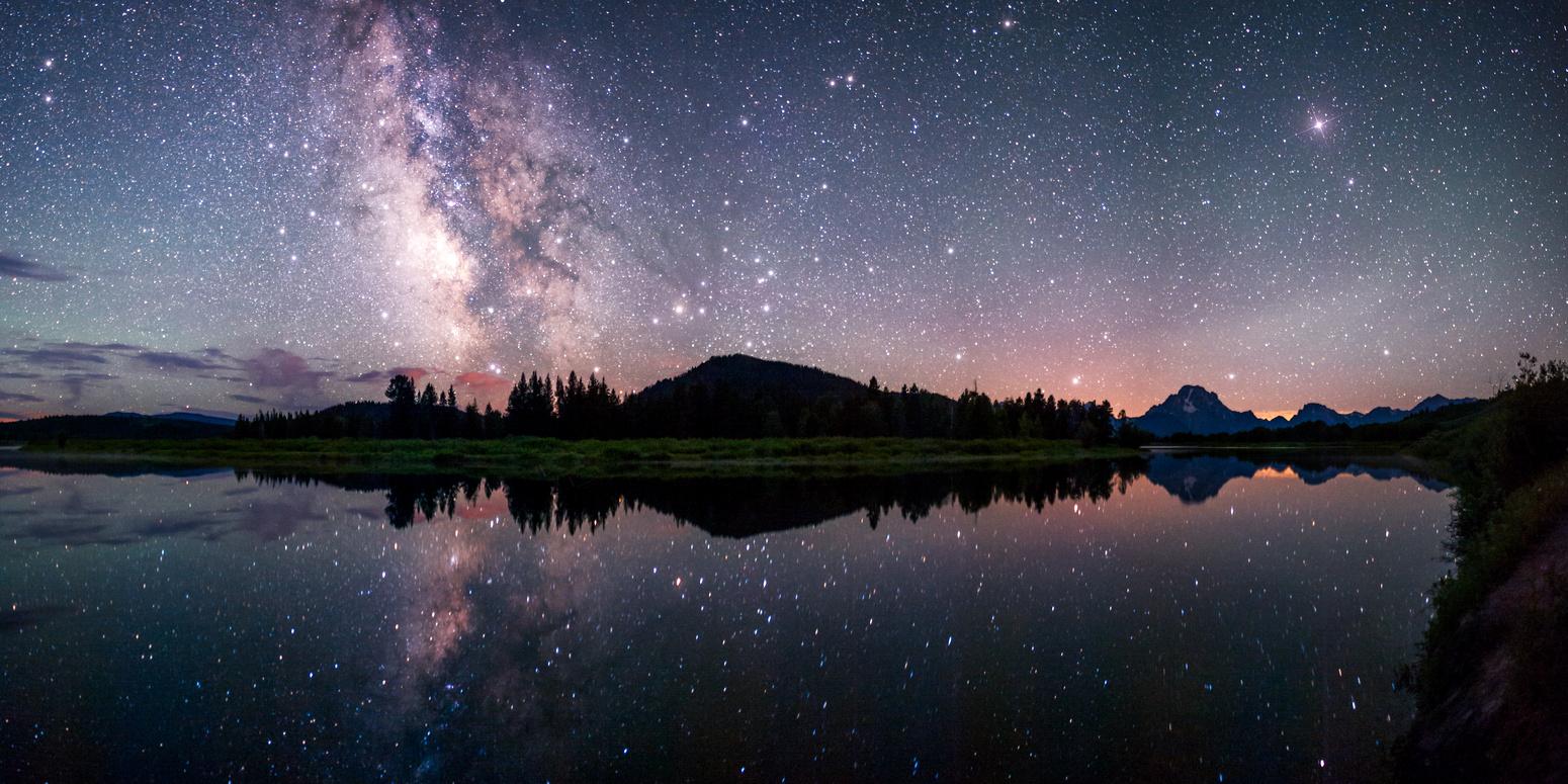 Oxbow Bend Reflections | David Kingham Photography