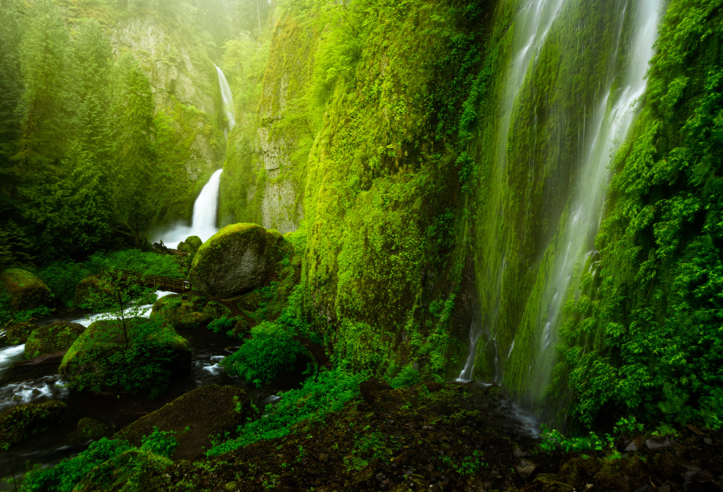 Wahclella Falls  | David Kingham Photography