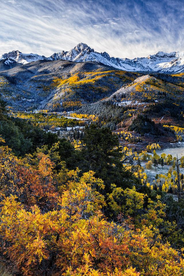 Mount Sneffels Fall Color Show    David Kingham Photography