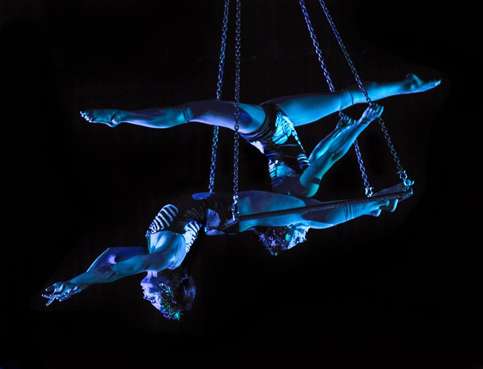Stephanie Lopes & Gemma Adams |  Night Flight Aerial
