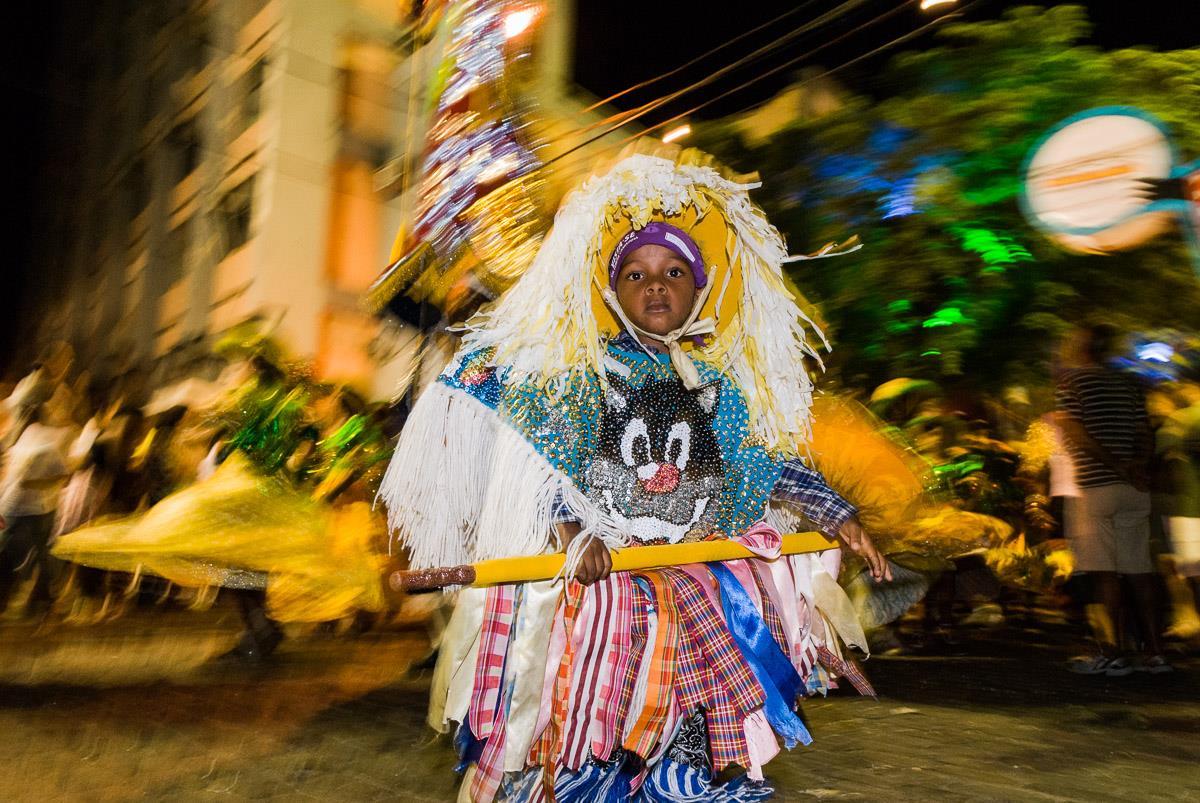 Cabloquinho: personaje de los blocos de Maracatu Rural. Foto: Phatyma Songolo