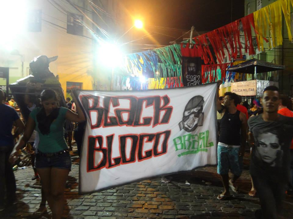 Bloco en las Calles de Recife Antiguo. Foto: Miosoti Alvarado