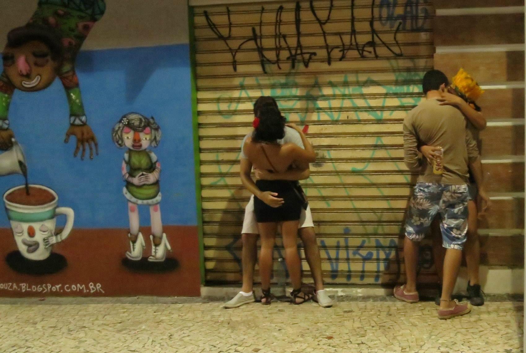 Por las calles de Recife Antiguo. Foto: Patricia Alonso