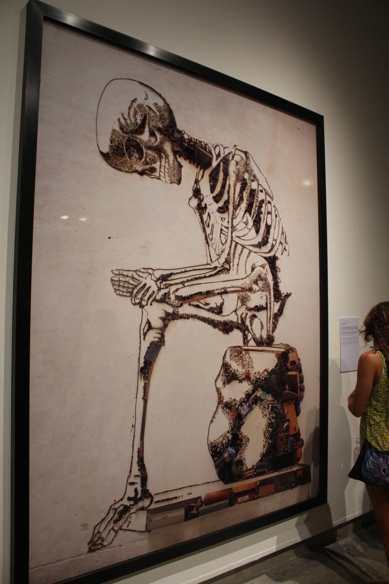 Anatomy, After Francesco Bertinatti (pictures of Junk), 2009. Vik Muniz. Impresión cromogénica digital, Ed 5/6. Colección privada.