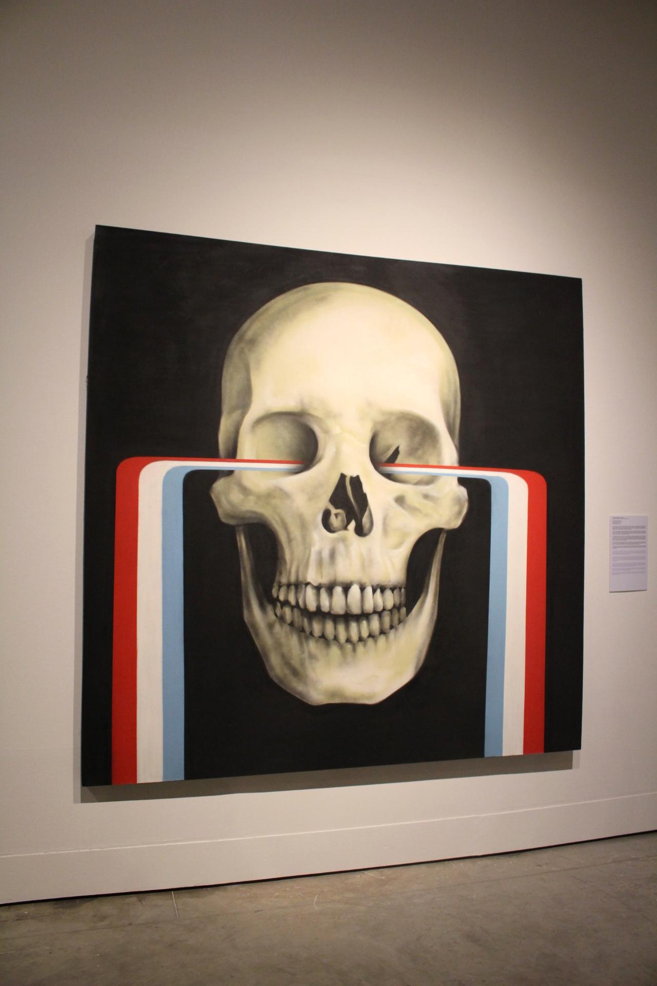 Los colores de mi tierra, 2012. Bik-Ismo. Pintura el aerosol sobre lienzo. Colección Figueroa Villamil.