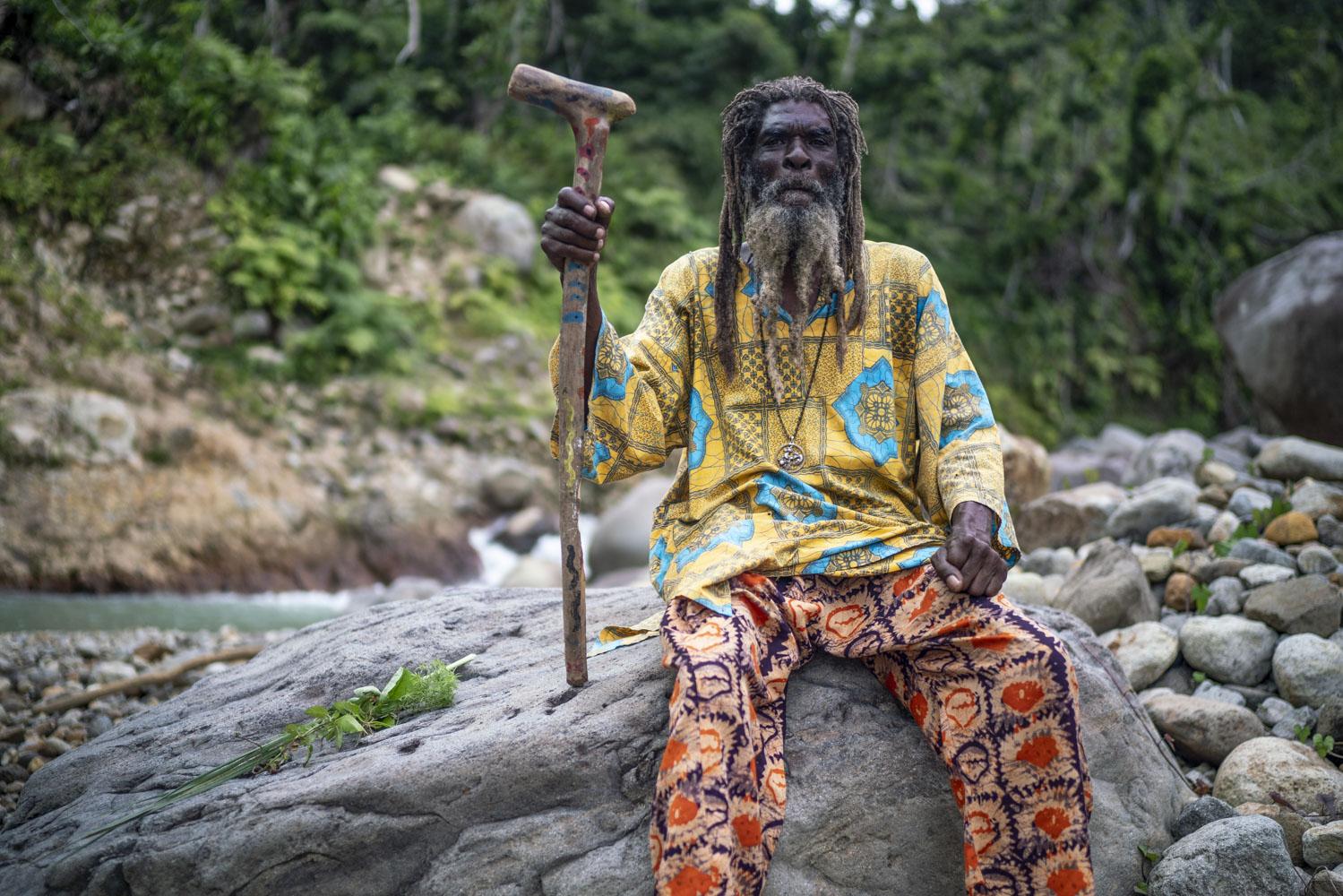 Rasta Moses. f. Raymesh Cintrón.
