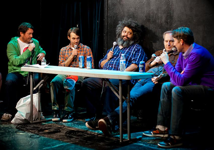 Doug Loves Movies taping with Will Forte, Scott Aukerman, and Bob Odenkirk