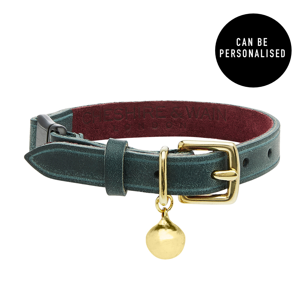 RIGBY - PERSONALISED LEATHER CAT COLLAR - LUXURY.jpg