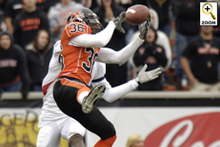 4 year starter and 2-Time All Pac 10 player at Oregon State University