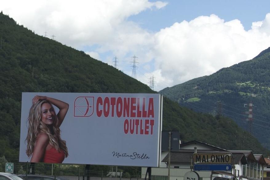 Pvc Backlight Insegna Cotonella