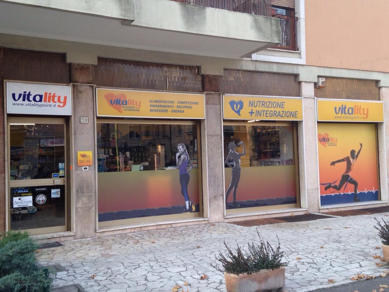 Vetrine Vitality Brescia