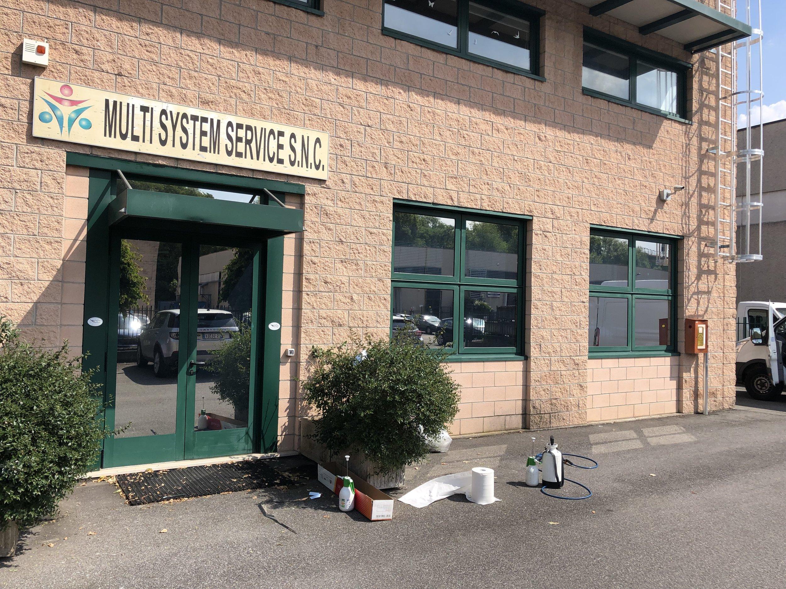 Multisystem Service Brescia, pellicola RHE20 G+