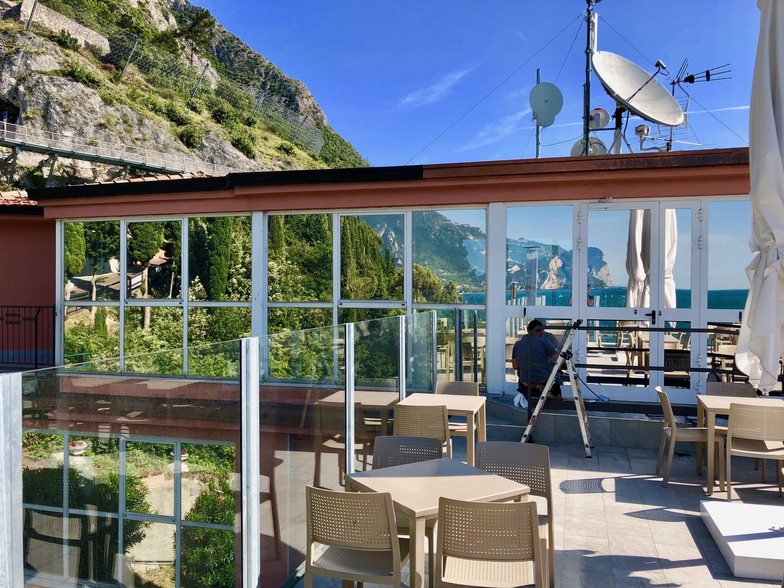 Terrazza Hotel CAPO REAMOL LIMONE DEL GARDA