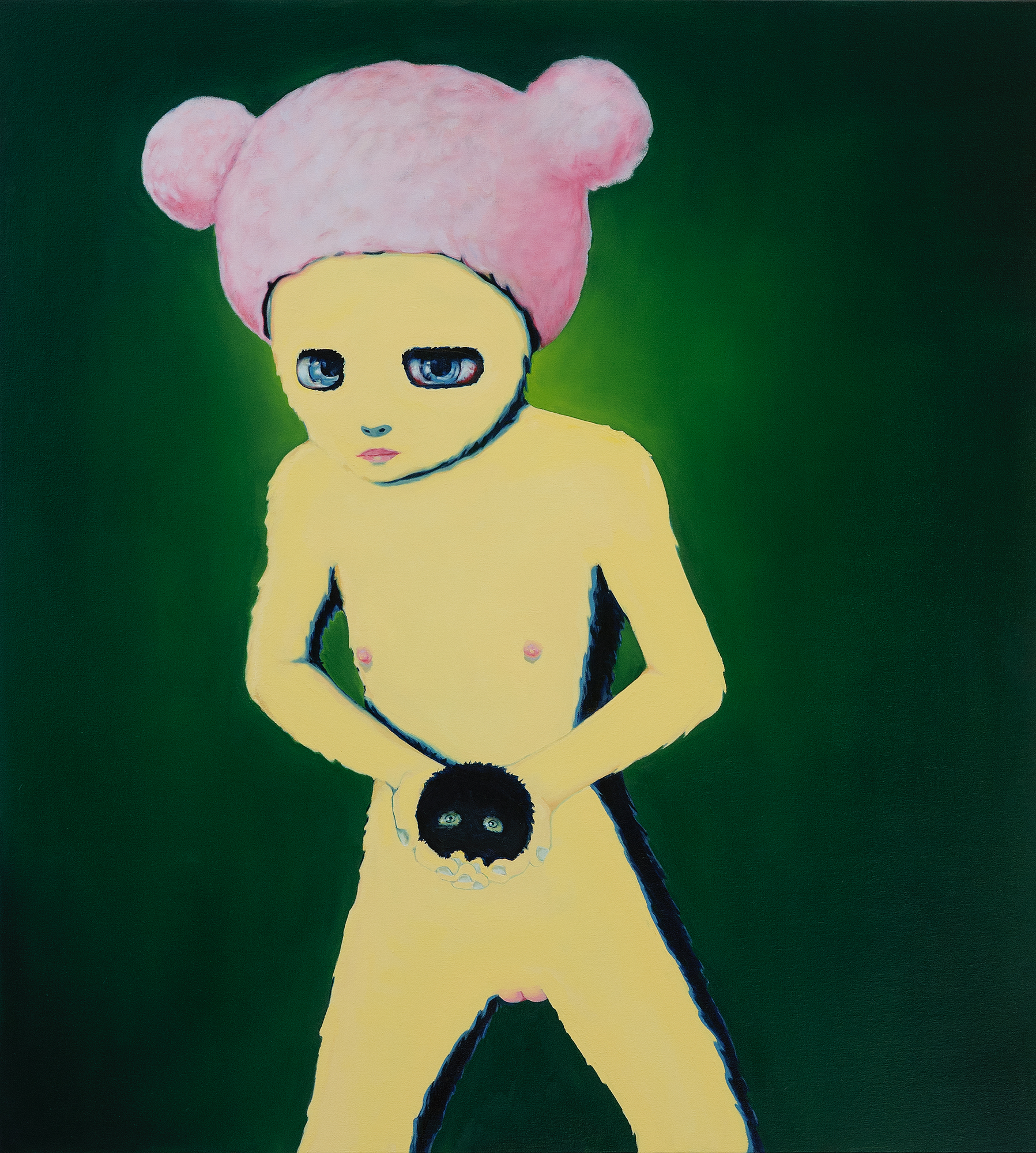 ikooki in Furs  2012   oil on canvas, 110x100 cm