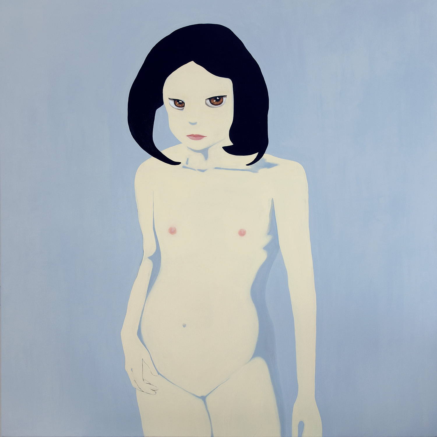Untitled   2009   oil in canvas, 138x138 cm