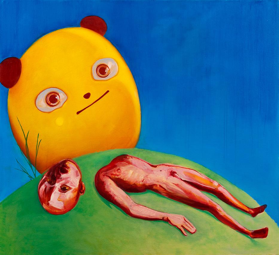 Oil on canvas, 100X110 cm, 2017