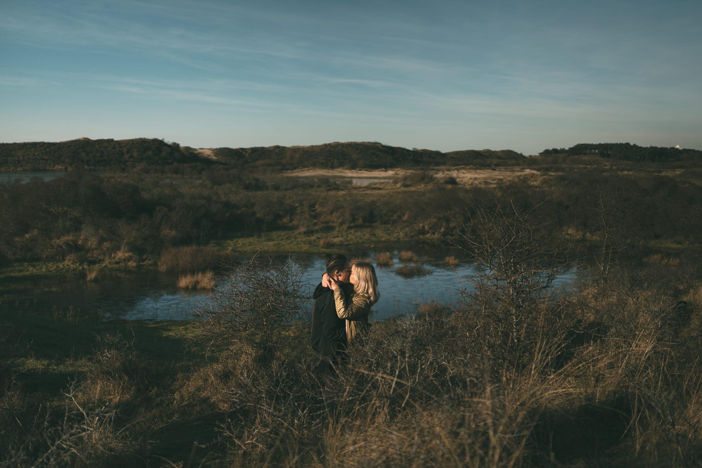 mark hadden bruidsfotograaf amsterdam does loveshoot in bloemendaal