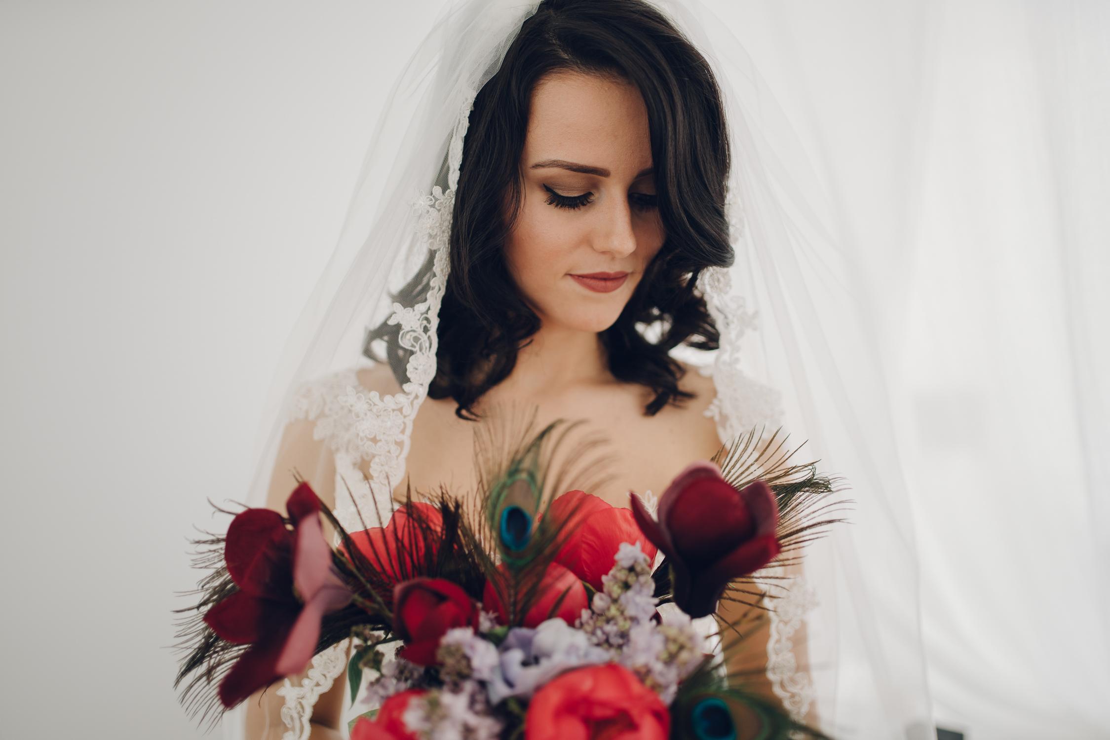 bruidsfotografie amsterdam bloemen foto door mark hadden