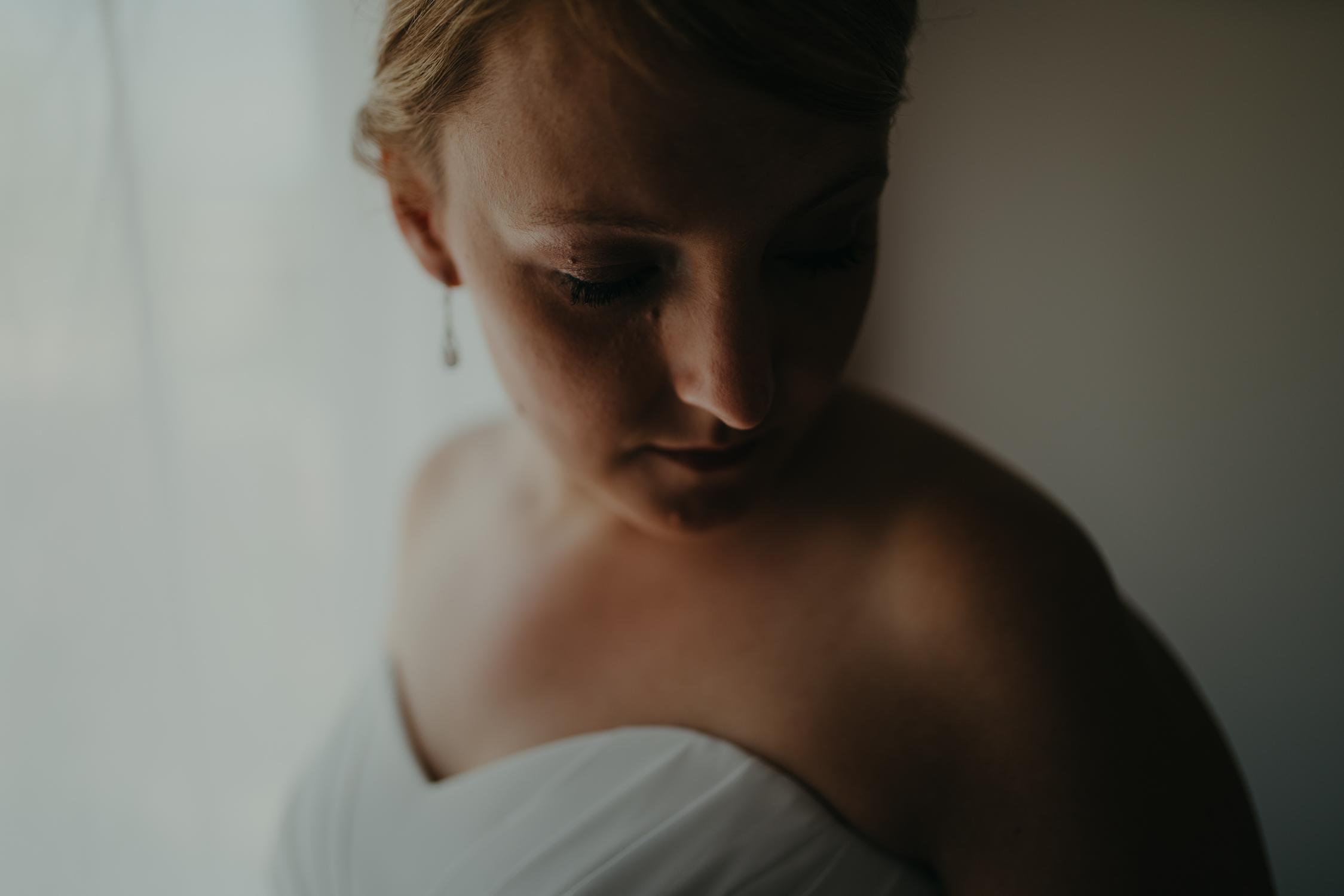 bruids portret door bruidsfotograaf mark hadden amsterdam
