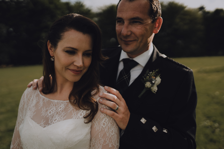 wedding photography aberdeen couple portrait