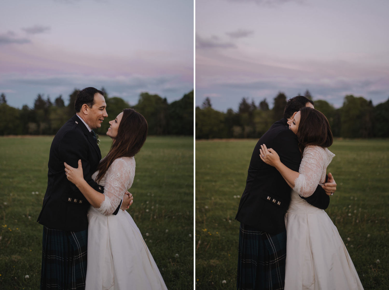 wedding photography aberdeen bridal portraits