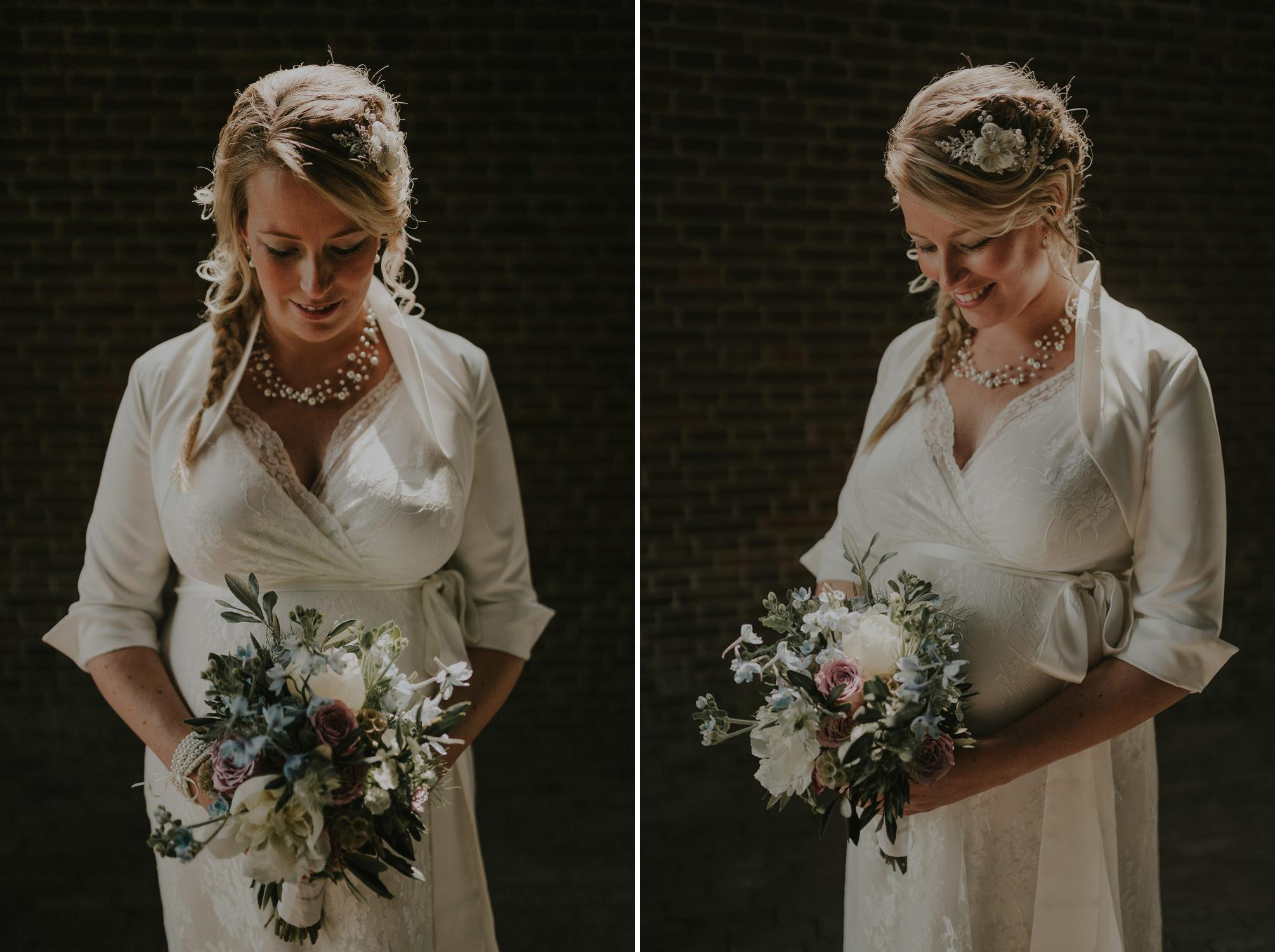 Bruidsfotografie Amsterdam - Bruids Portret