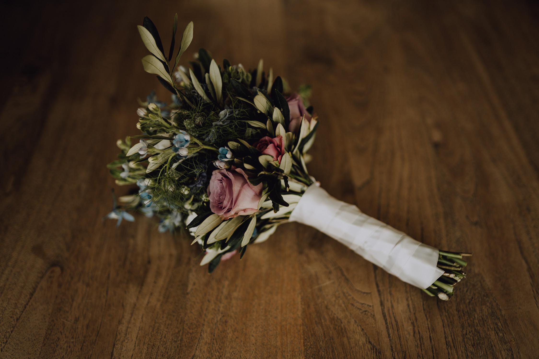 Bruidsfotografie Amsterdam Bloemen