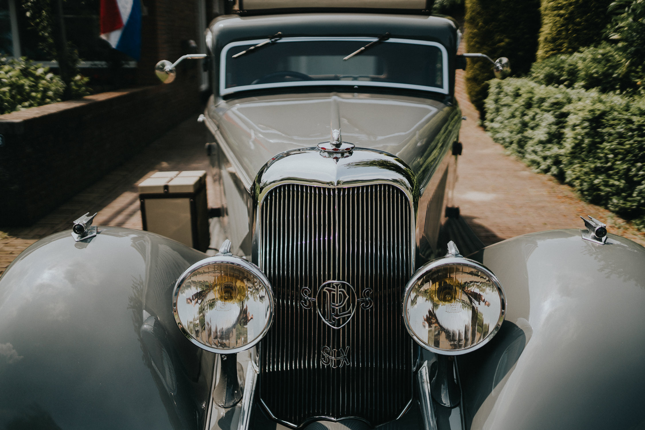 Bruidsfotografie Amsterdam Auto