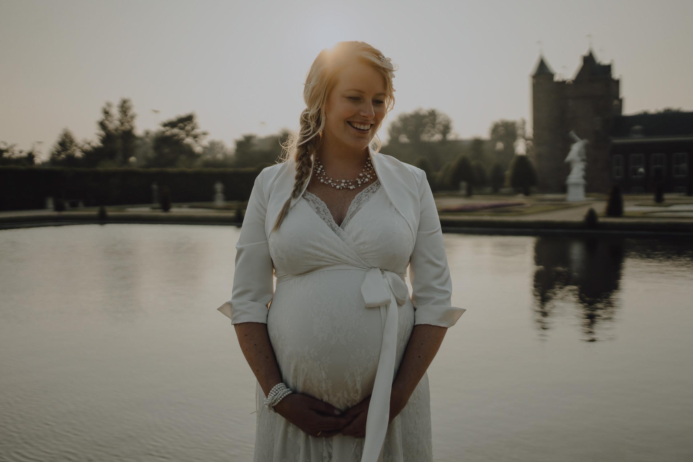 Bruidsfotografie Amsterdam Zwanger Bruid