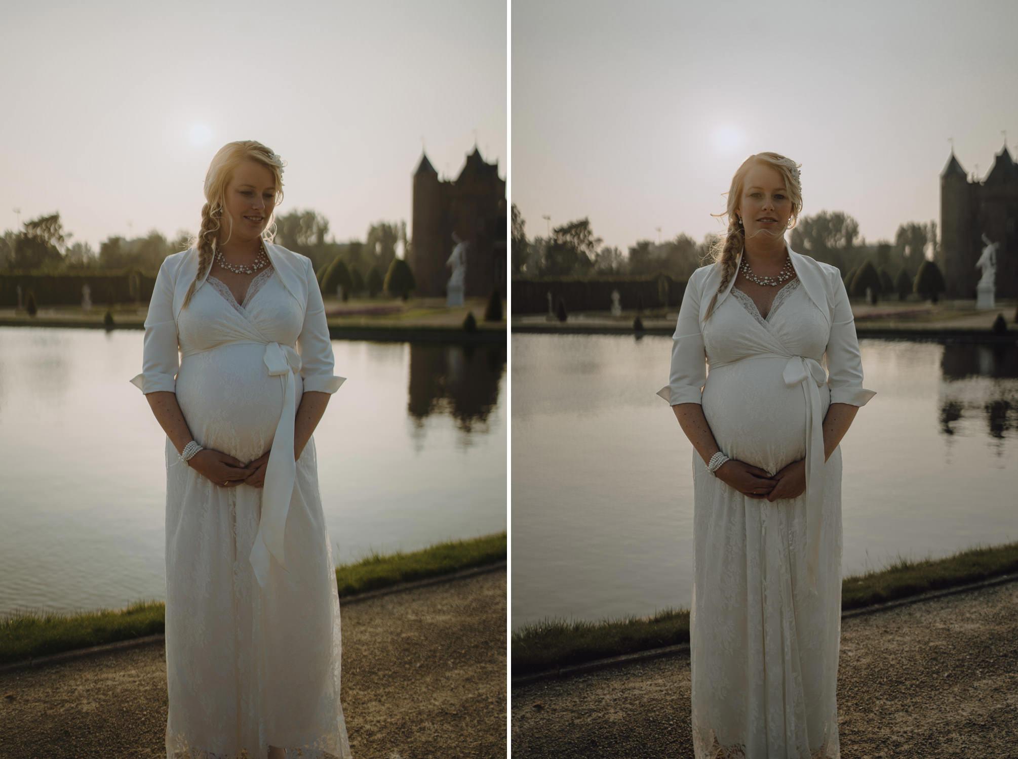 Bruidsfotografie Amsterdam Bruid is Zwanger