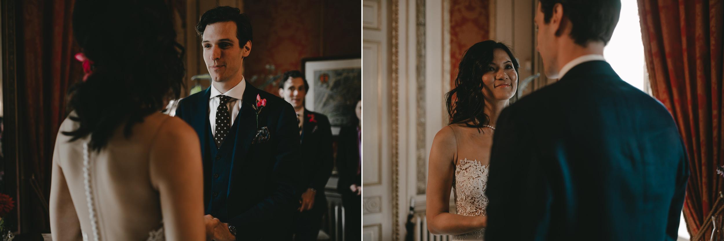 bruidsfotograaf amsterdam ceremonie het grachtenhuis