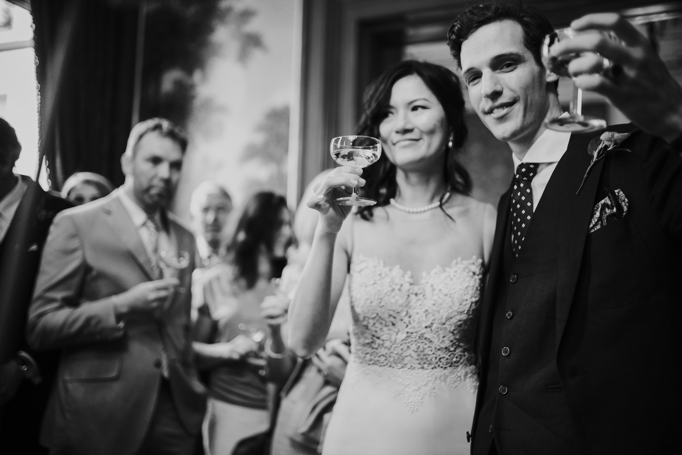 bruidsfotografie amsterdam feest het grachtenhuis
