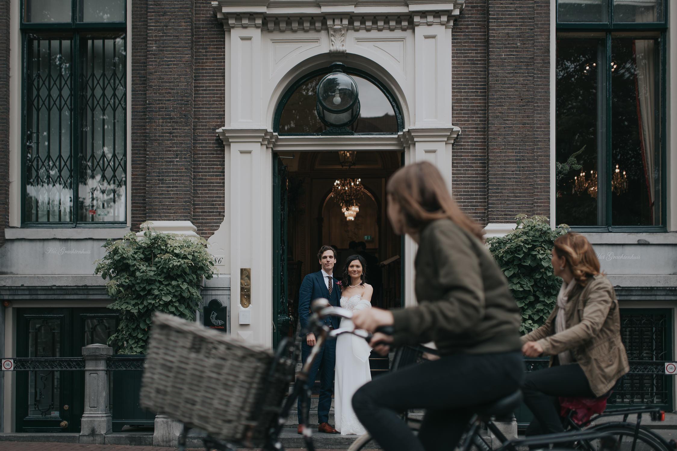 bruidsfotograaf amsterdam het grachtenhuis