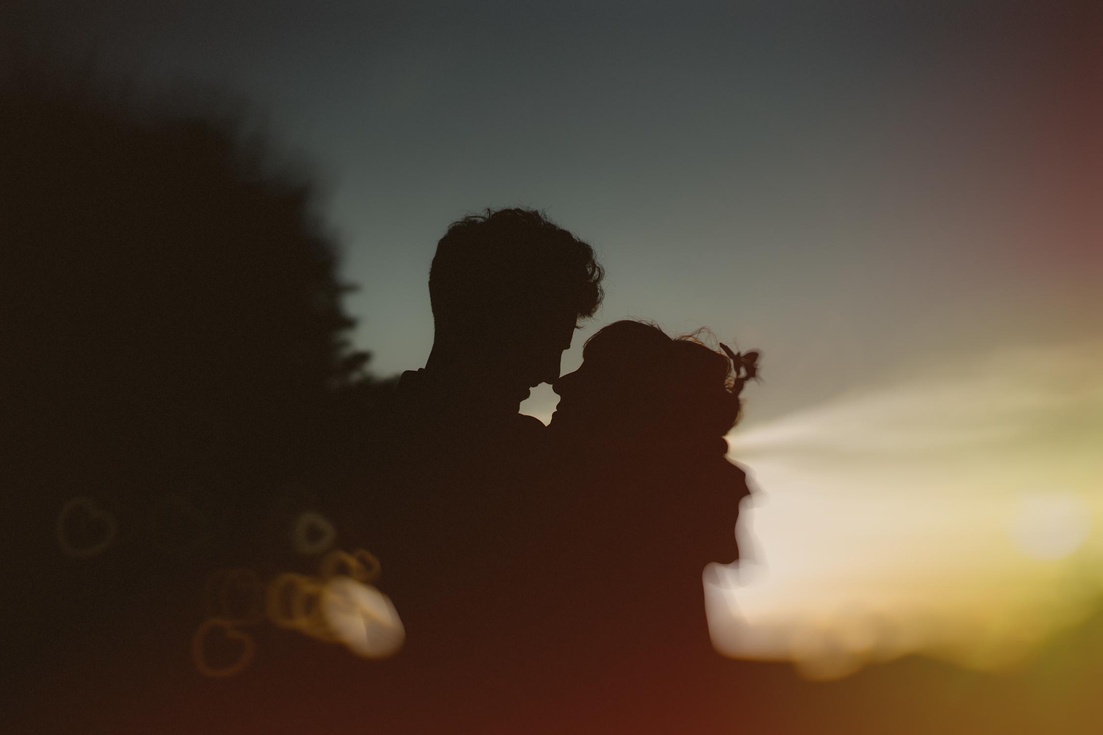 bruidsfotografie amsterdam sunset by wedding phtographer mark hadden