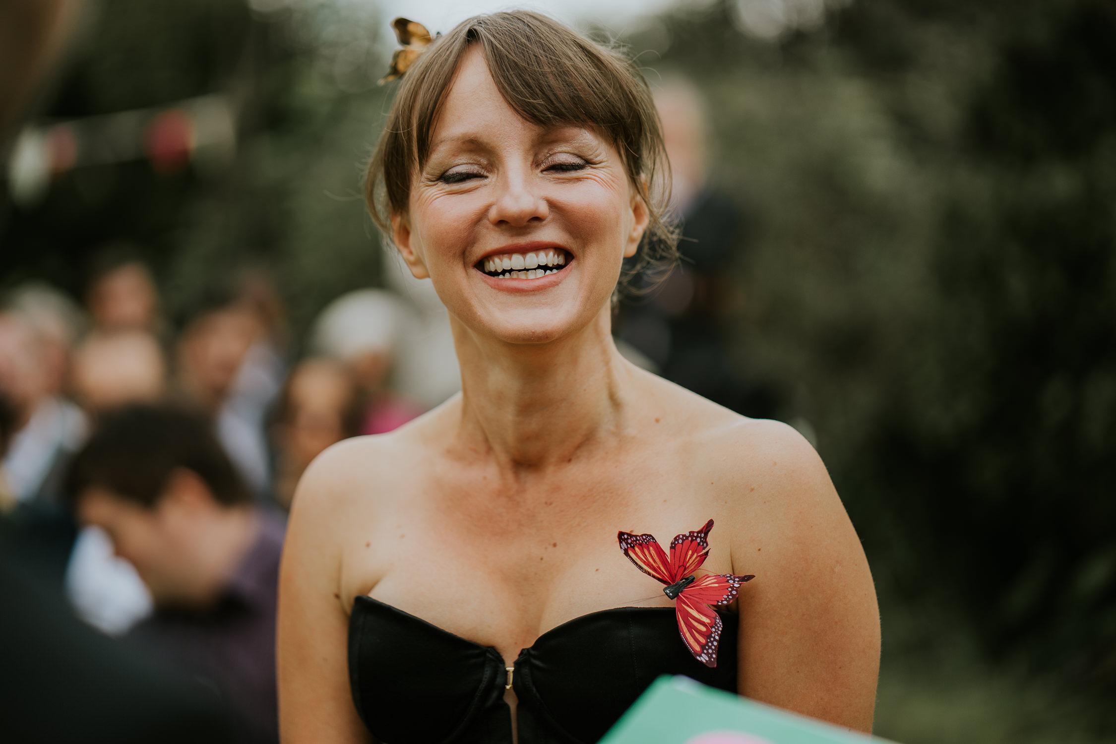 bruidsfotografie amsterdam bride at ceremony