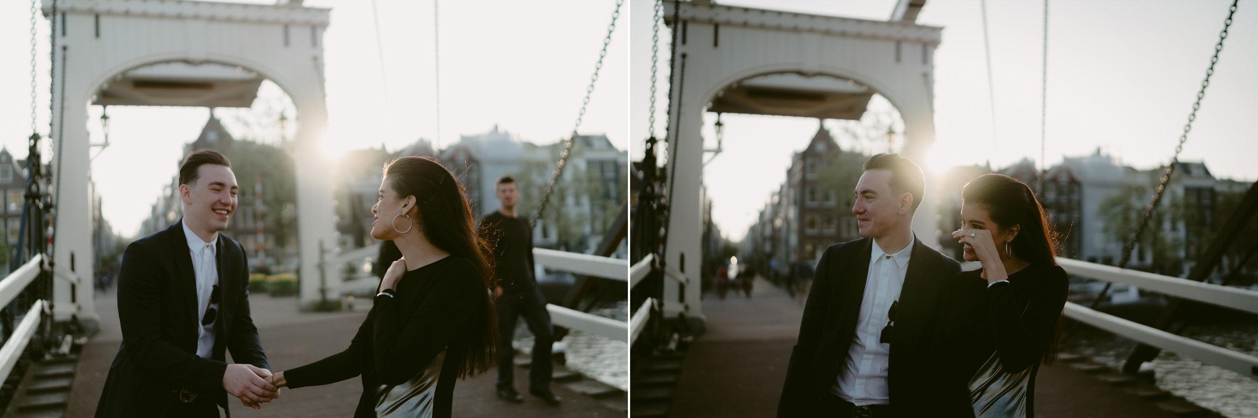 bruidsfotografie amsterdam engagement shoot proposal
